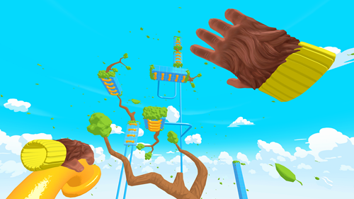 TOSS!🍌 - A bananas VR climbing platformer with challenging playgrounds
